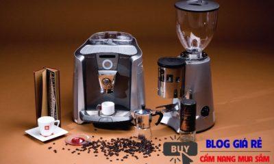 may pha ca phe espresso