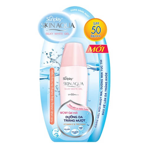 Sunplay Skin Aqua Silky White Gel