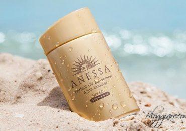 Review kem chống nắng Shiseido Anessa có tốt không?