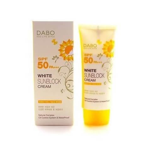 Dabo White Sunblock Cream