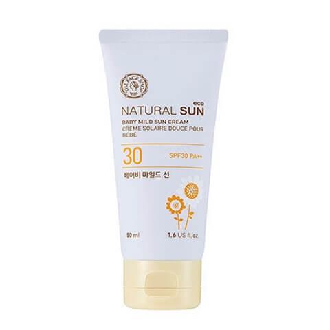 Natural Sun Eco Mild Baby Sun Cream