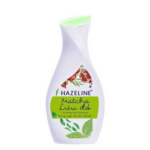 Hazeline matcha & lựu đỏ