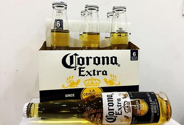 bia corona pack