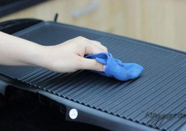 Cách vệ sinh bếp nướng điện đơn giản