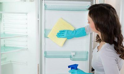Cách vệ sinh tủ lạnh