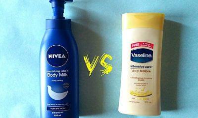 Nivea và Vaseline đều là những thương hiệu nổi tiếng