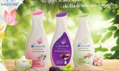 Sữa dưỡng thể Hazeline