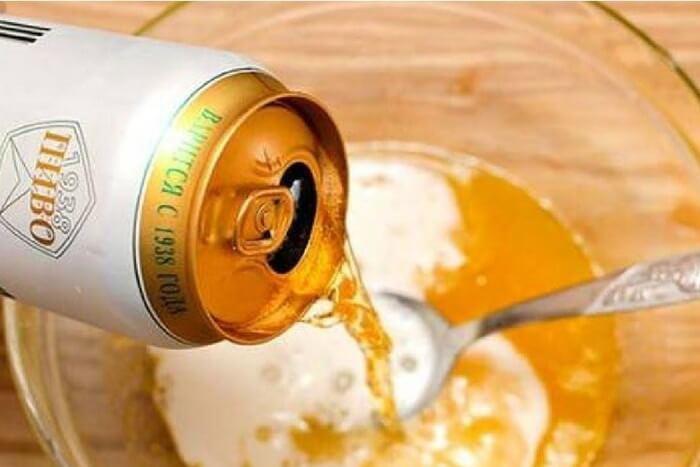 Tắm trắng bằng bia, sữa tươi, trứng, mật ong