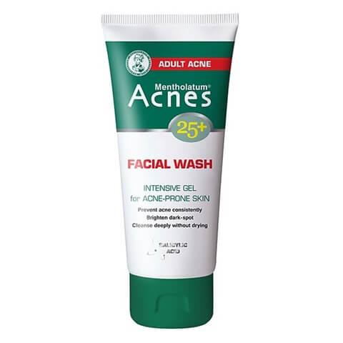 Gel rửa mặt ngăn ngừa mụn Acnes 25+