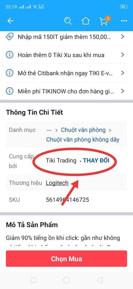 Sản phẩm bán bởi Tiki Trading