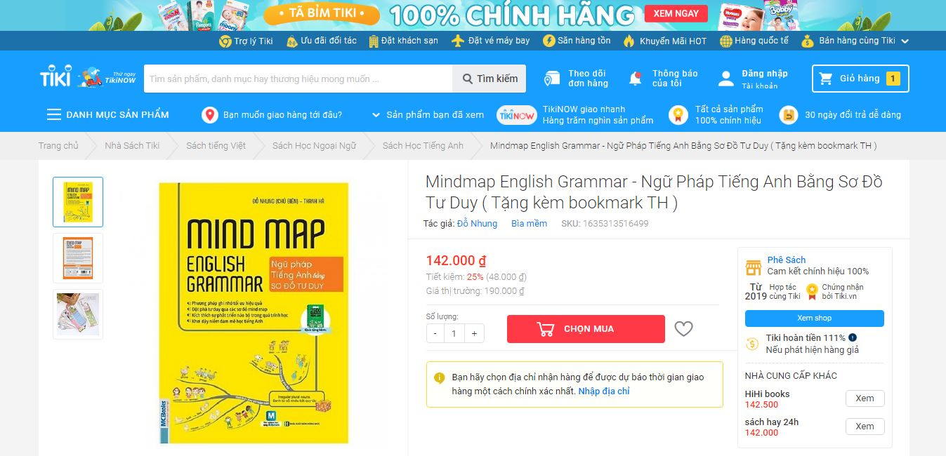 Top 5 quyển sách tiếng anh Tiki bán chạy nhất