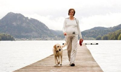 đi bộ khi mang thai