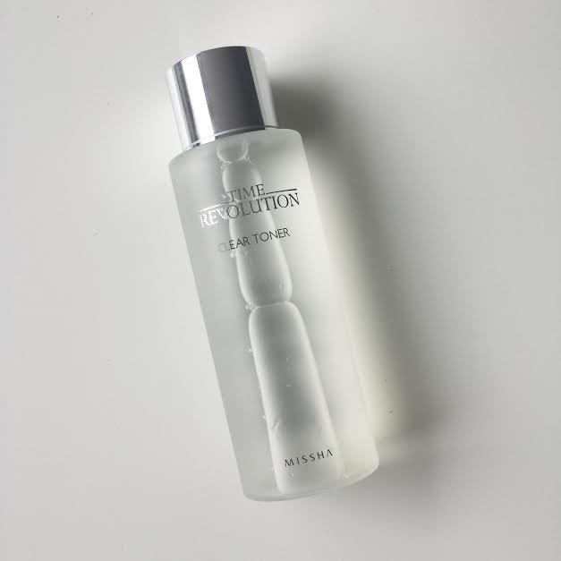 Missha Time Revolution Clear Toner
